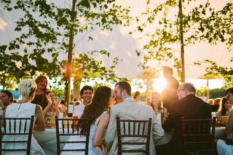 santa barbara tented wedding
