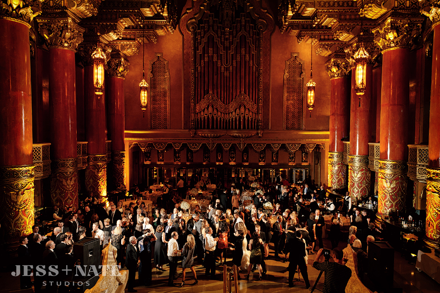 fox theater wedding 11