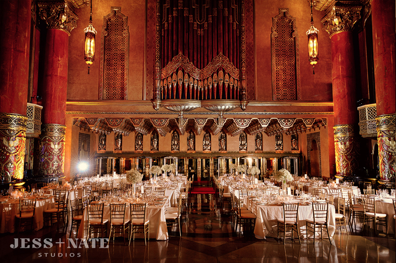 fox theater wedding 9