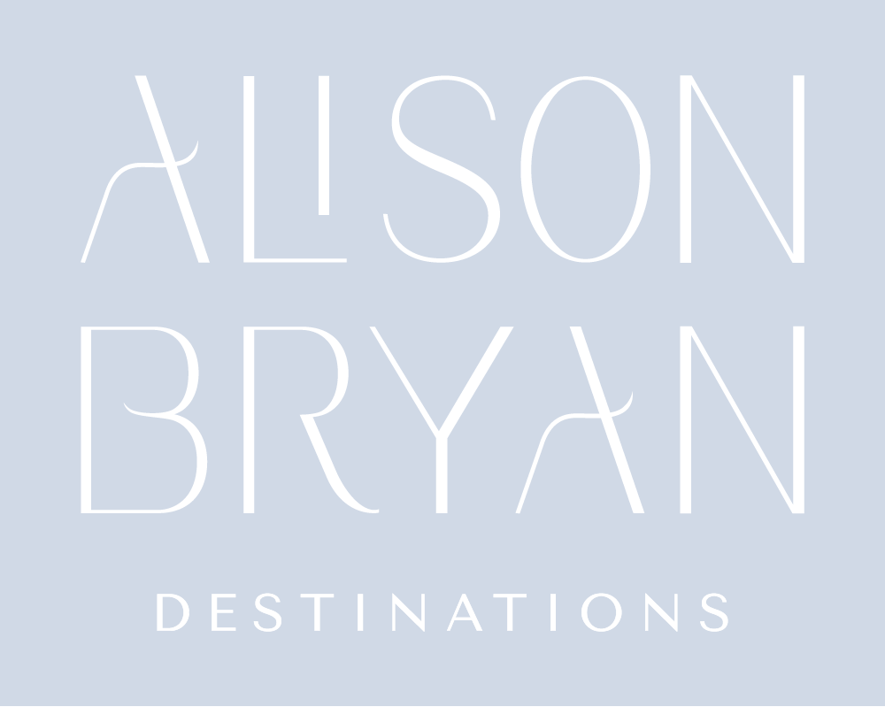 Alison Bryan Destinations | Wedding Planning and Design