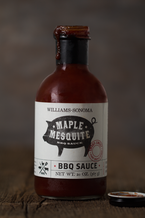 This is my favorite BBQ sauce to use for ribs! It's smokey and sweet - definitely a crowd pleaser!