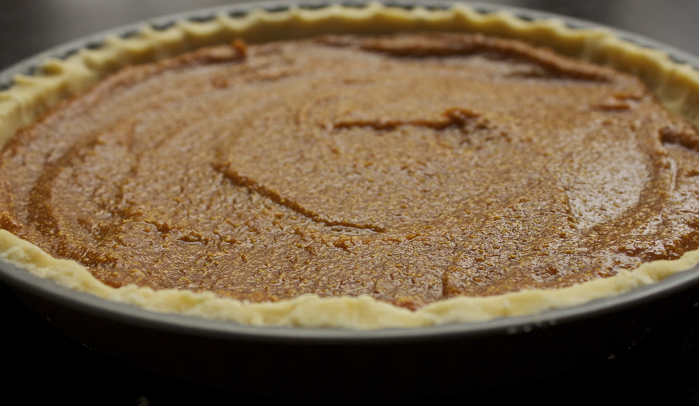 pumpkin maple pie