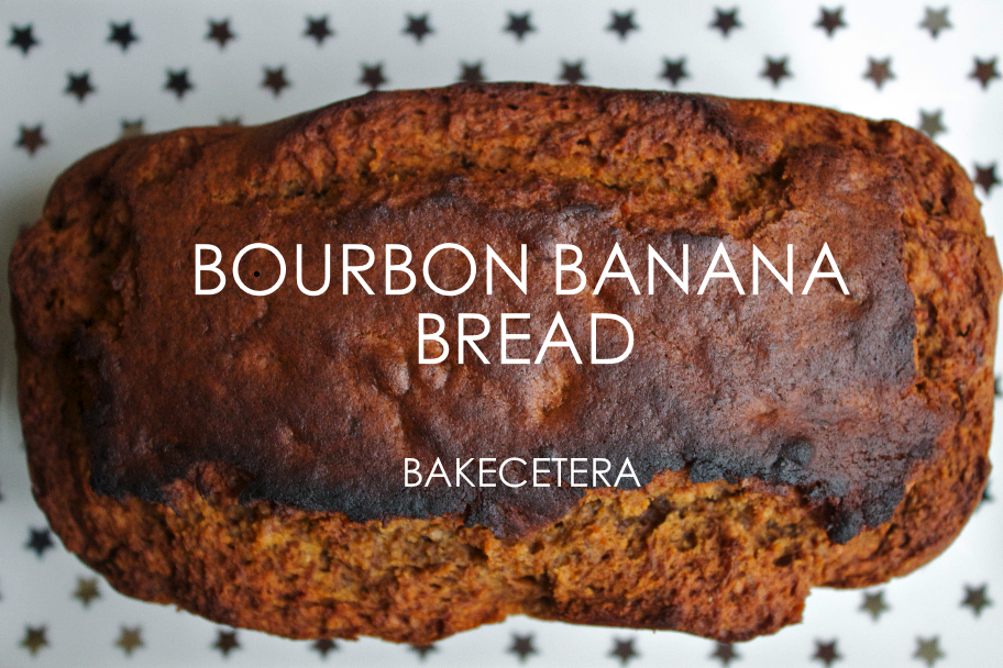 Bourbon banana bread - What you need: