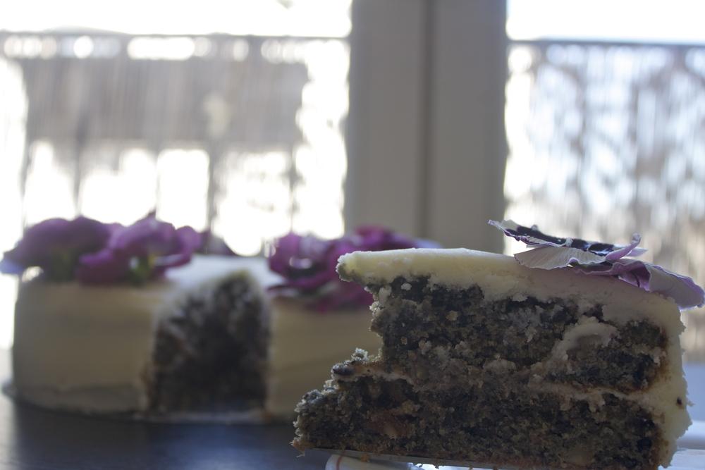 vegan purple carrot cake