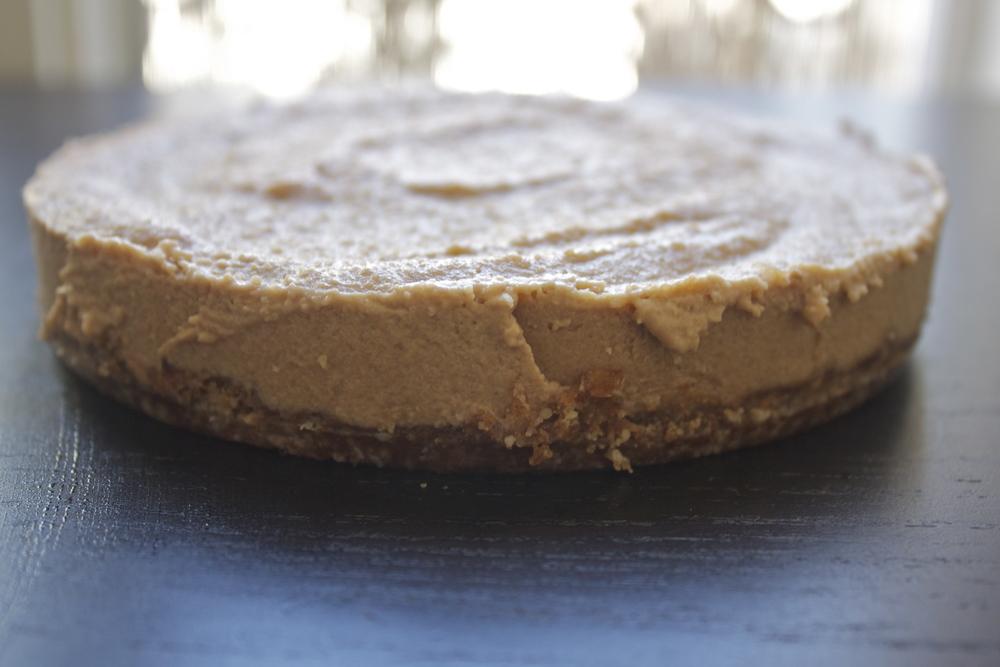 vegan maca caramel cakes