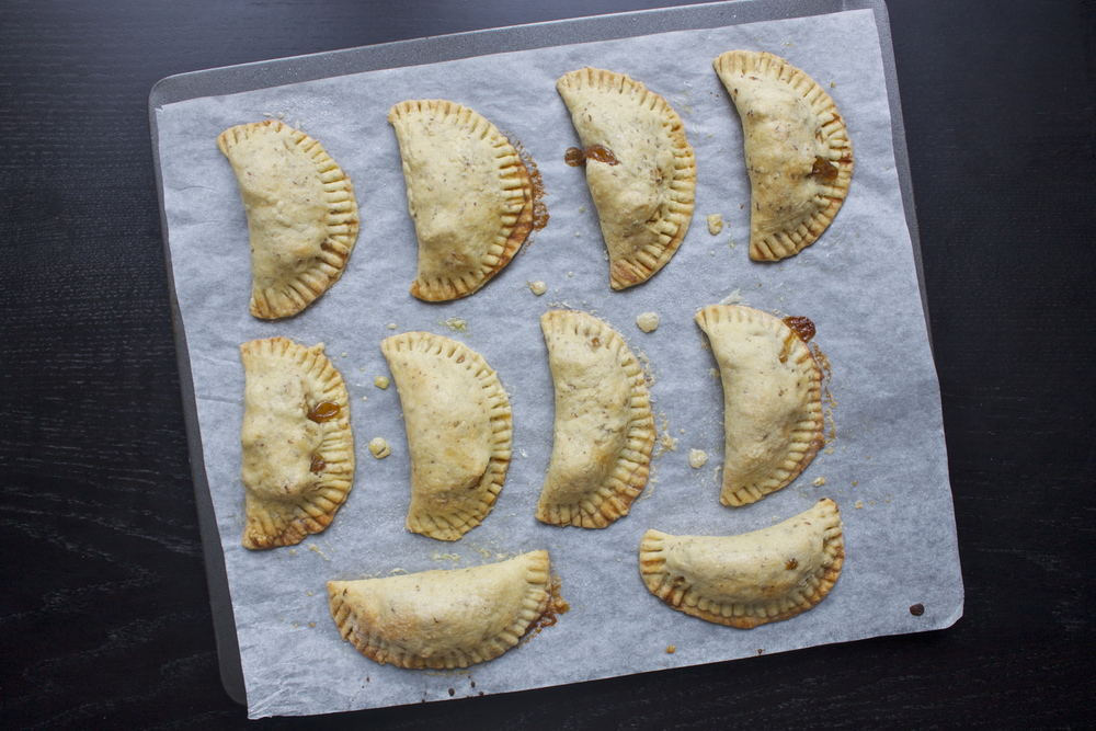 vegan apple hand pies