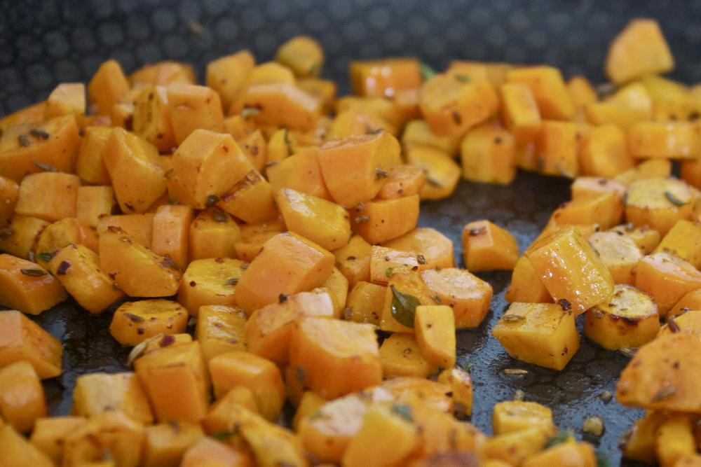 savoury carrot tart