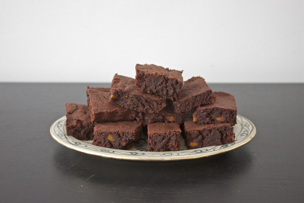 vegan sweet potato brownies