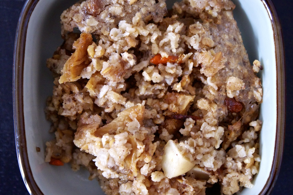 vegan tropical baked oatmeal