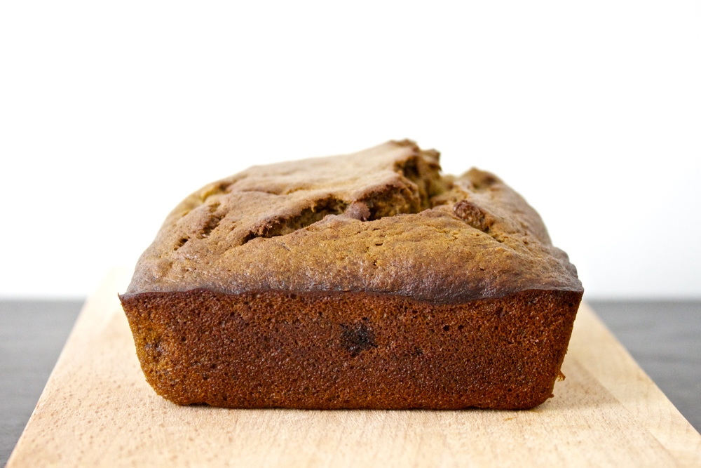 vegan matcha green tea banana bread