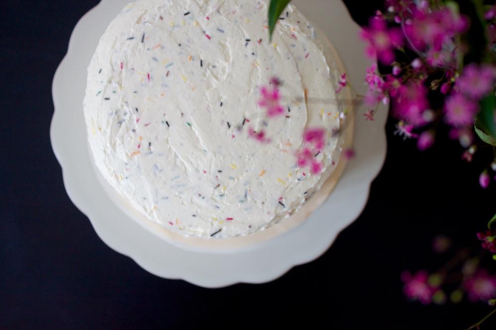 vegan neapolitan cake