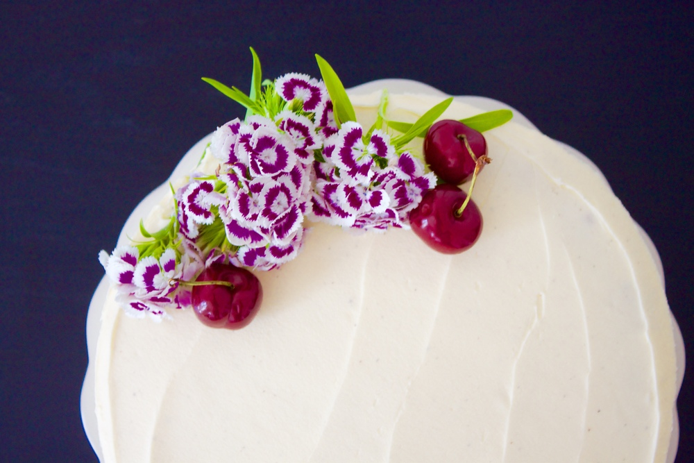 vegan cherry cake