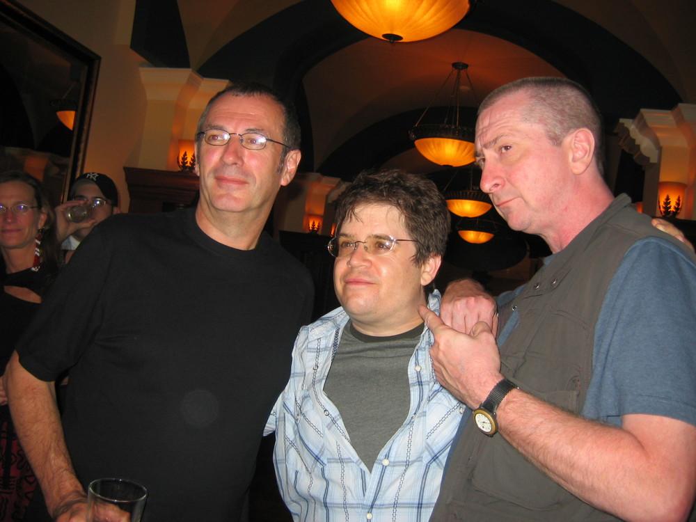 Dave Gibbons, Patton Oswalt, Frank Miller