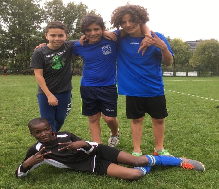 Tariq, Mohamed, Abdullah en ... Boaz