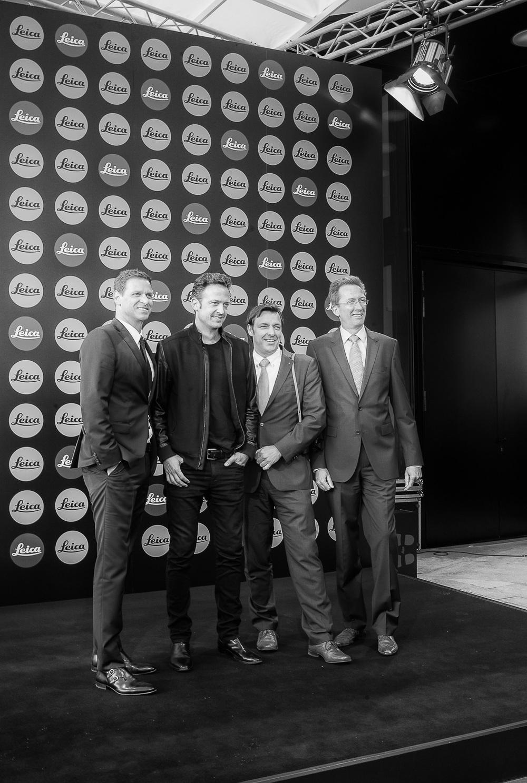 Oliver Kaltner (CEO), Til Brönner, Markus Limberger (COO), Ruud Peters (CFO)