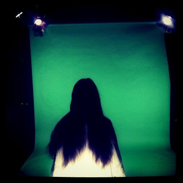 Wrapping up the Deerhoof shoot (Taken with  instagram )