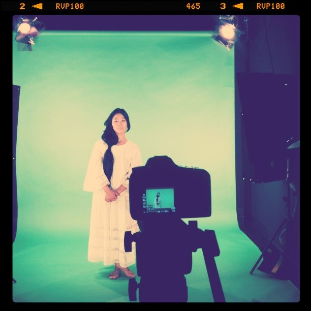 Directing Deerhoof studio shoot tonight (Taken with  instagram  at Viacom/MTVN)