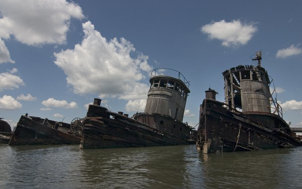 Staten Island Boat Graveyard … would love to film here