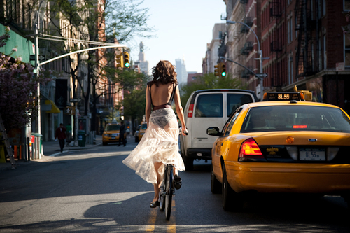 This great collection via  Down Town from Behind  has me really excited for better weather to bike around NY…