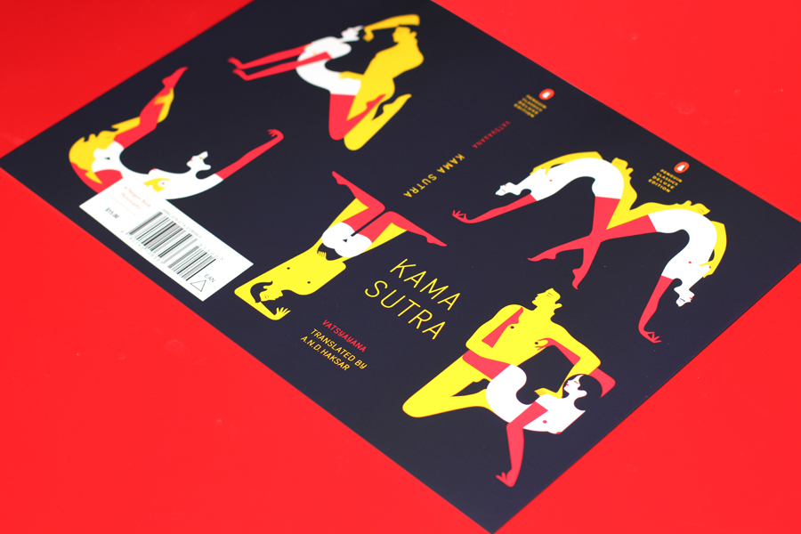 Wow! Impressive sexy design run-down on this great book cover from French artist/illustrator  Malika Favre .