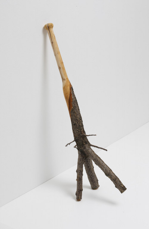 """Turnaround"", baseball bat sculptures by Vincent Kohler. I want one."