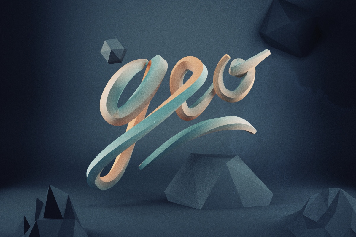 Low-poly exploration of shapes and form by Jeremiah Shaw & Danny Jones…