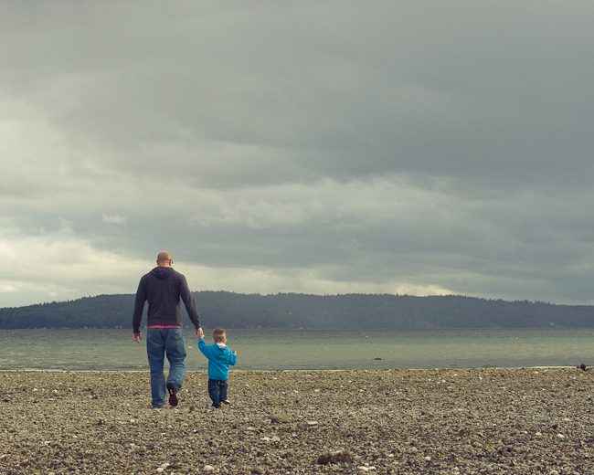 family beach portrait Seattle