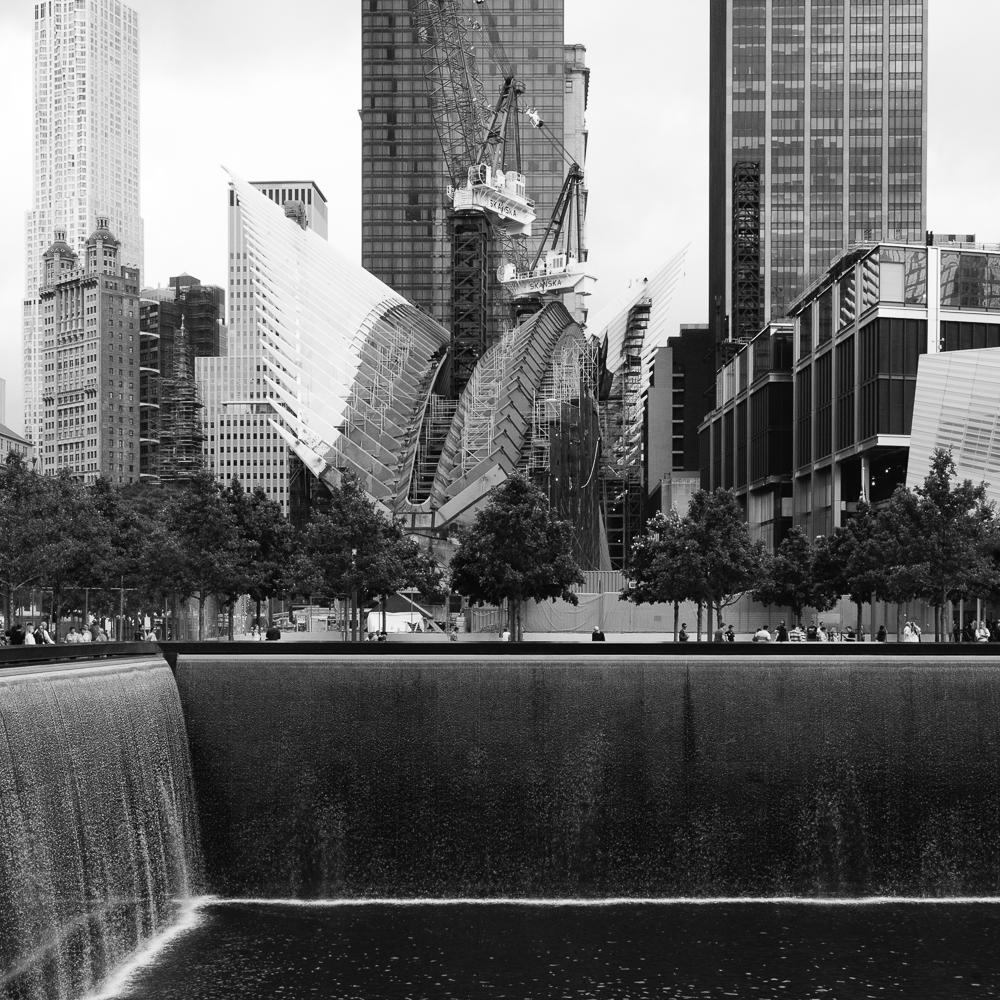 The 911 memorial.