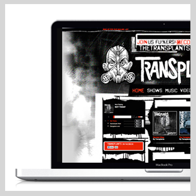 The Transplants Website