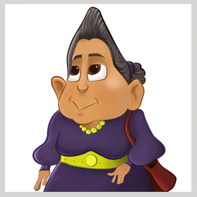 A  gatha Grams I Character Design
