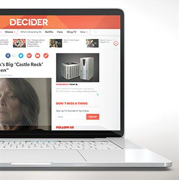 Decider Website