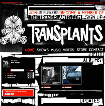 The Tranplants Website