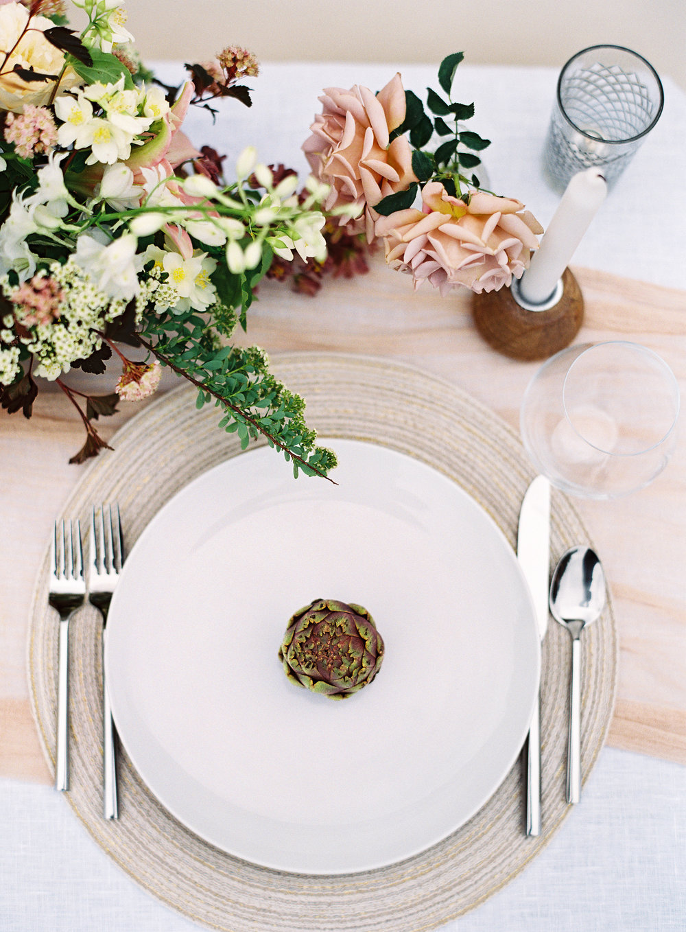 Photo by Christine Doneé Floral by Ellamah Modern Rustic Tablescape_4.jpg