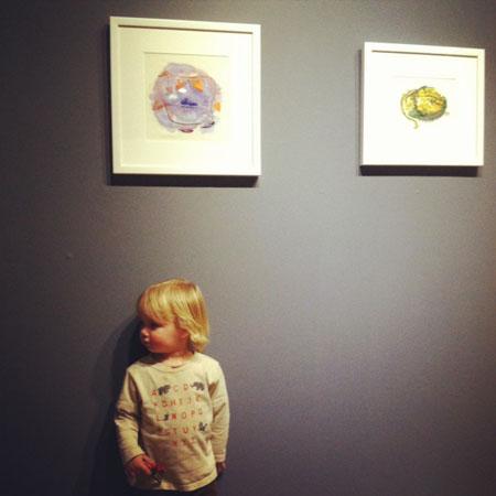 Henry at Arlington Arts Center, Jan 19, 2013.