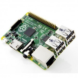 Raspberry Pi's B+ model works great as an ASIC controller