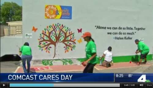 Comcast Cares new story