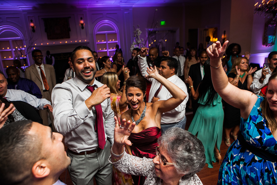 People dancing at Alpine Country Club, in New Jersey.