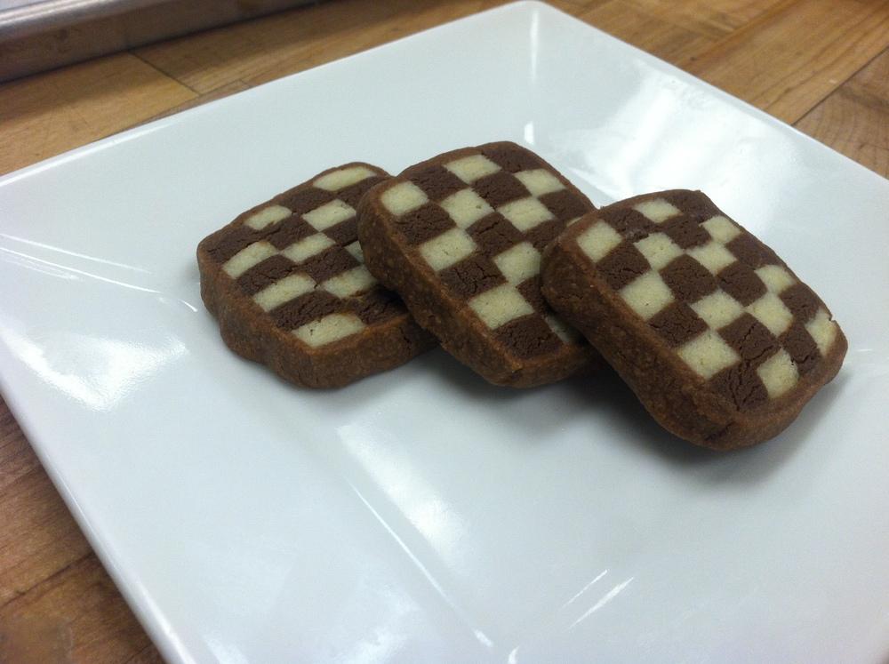 Checkerboard Shortbread