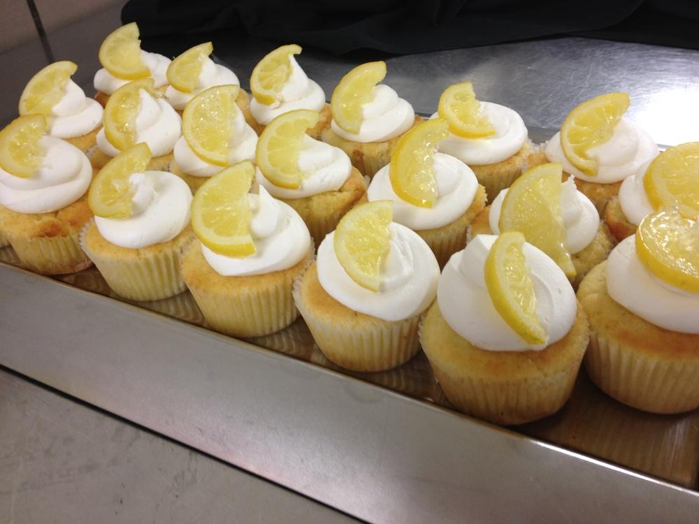 Lemon Drop Cupcakes
