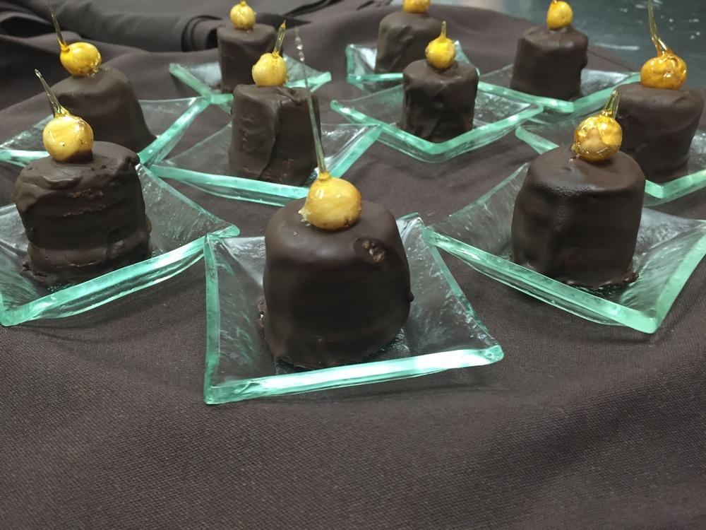 Chocolate Hazelnut Tortes