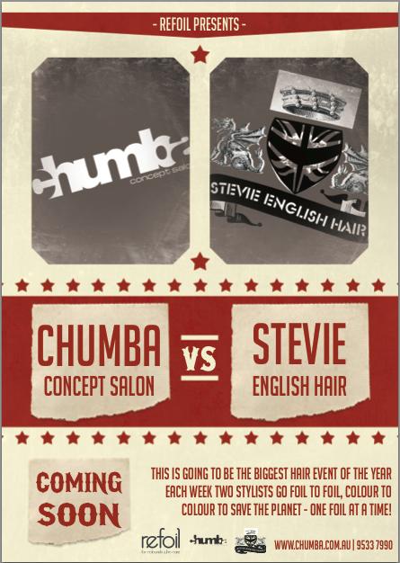 Chumba vs Stevie English - refoil battle