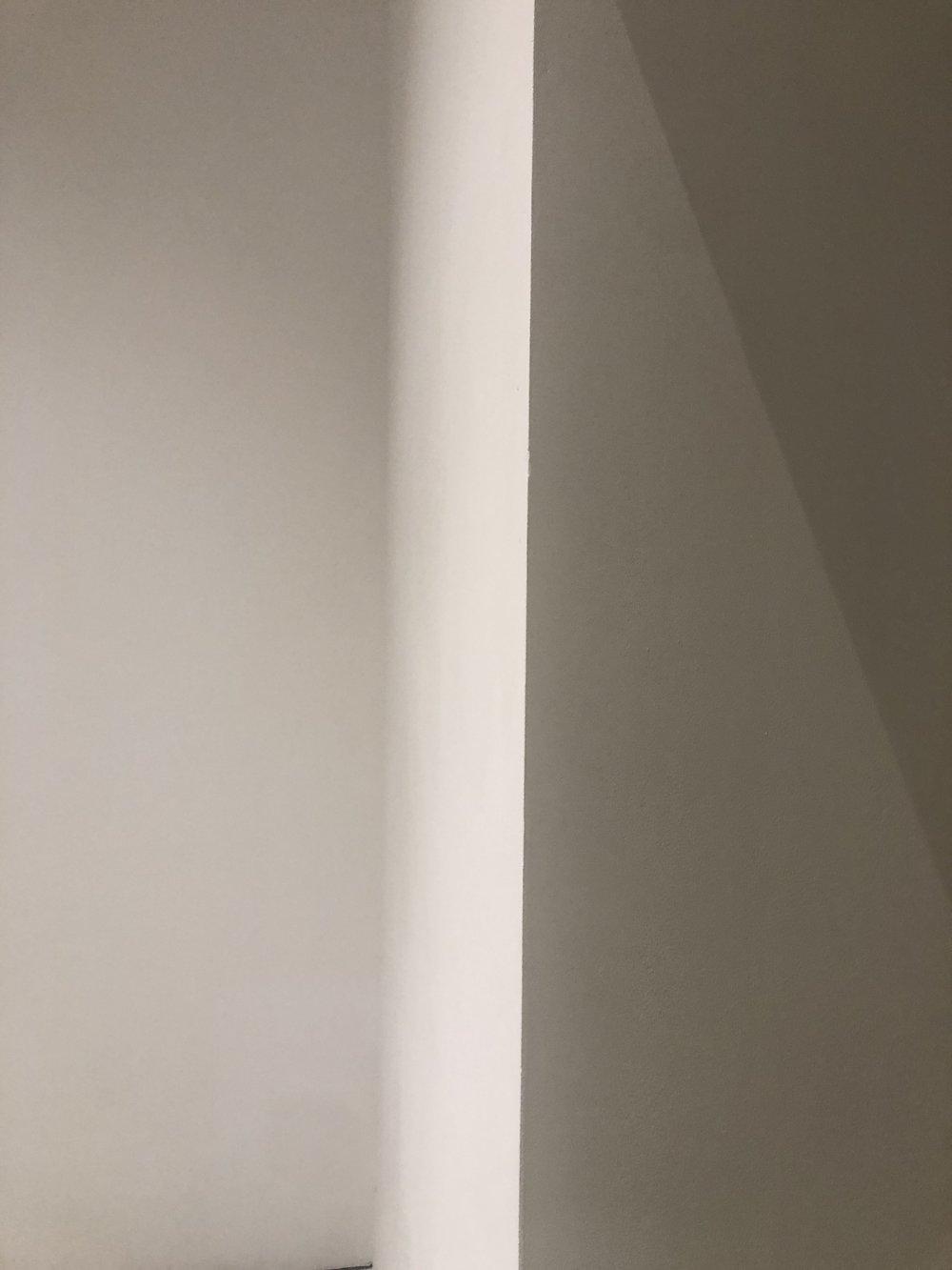 Muro bianco.