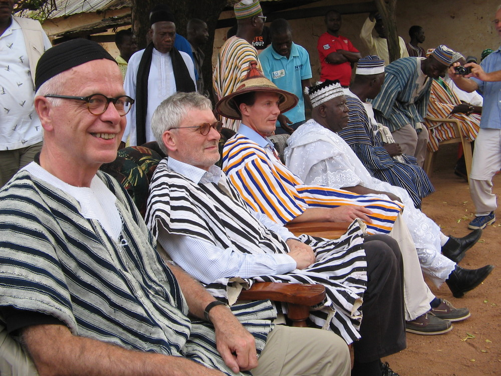 White men's burden  With CARE in Northern Ghana Oct. 2010