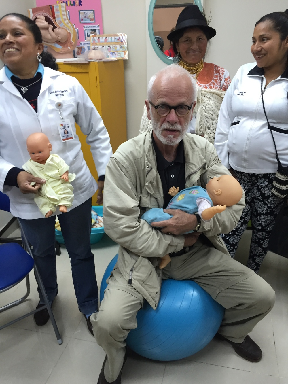 Visiting a fertility clinic in northern Ecuador with CARE, November 2015