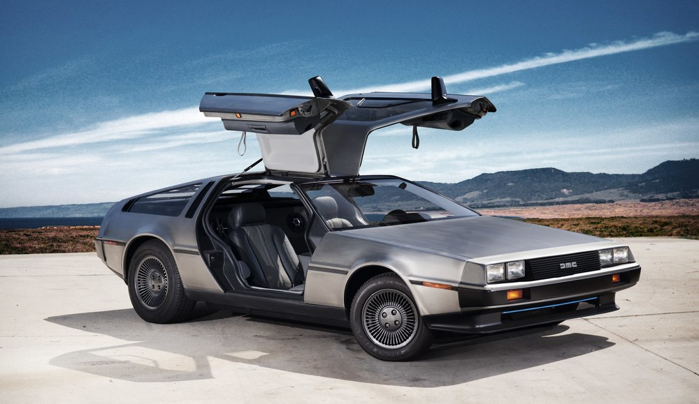 If your car has gull wing doors then rest assured your client is going to notice...even if it is a Delorean.