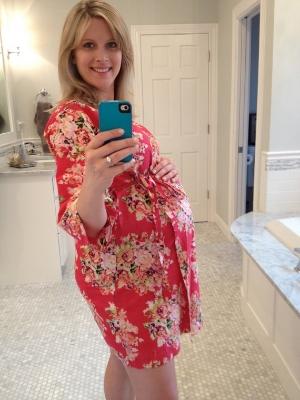 nursing nightgown, hospital birth gown, maternity nightgown, birth kimono