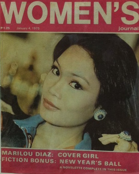 Marilou Diaz-Abaya gracing the cover of Women's magazine in 1975