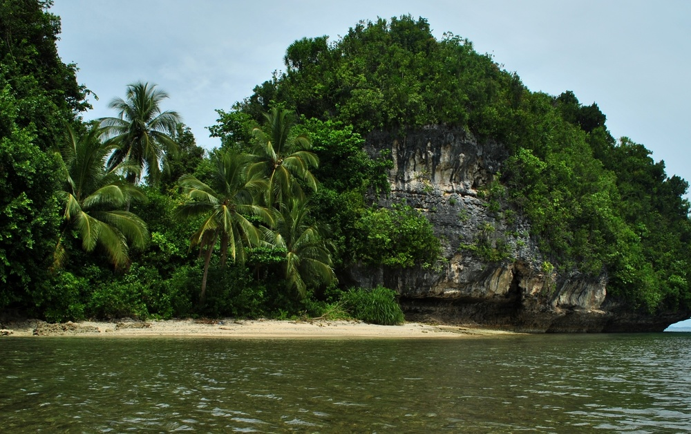 Marabut rock islands in Samar  (Photo by Bernard L. Supetran)