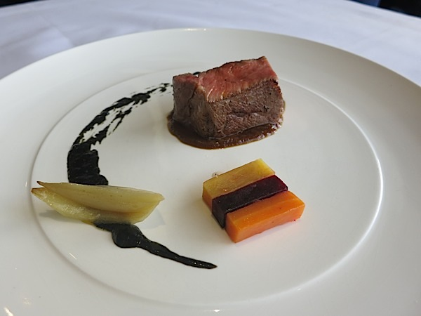 Bistek, Bitter Onion, Dinuguan Black Pudding, Carrot, Sweet Potato  (Courtesy of The Goose Station)