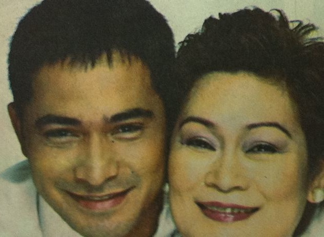 Marilou Diaz-Abaya and her favorite actor, Cesar Montano